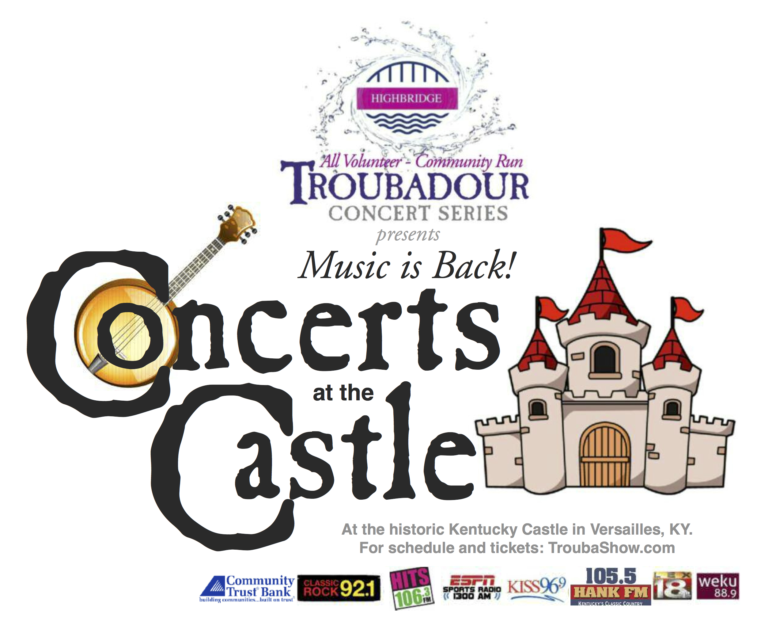 Welcome To The Troubador Concert Series